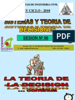 Clase 6 Teoria Decisiones 2010