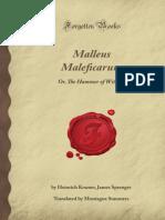 Malleus Maleficarum El Martillo de Las Brujas