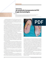 Uso de La Película Transparente de PVC en Cirurgia