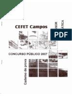 CEFET 2007m
