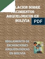 legislacion ARQUEOLOGIA