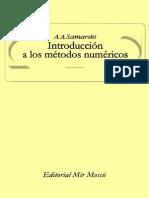 A.a. Samarski-Introducción a Los Métodos Numéricos-Editorial Mir (1986)
