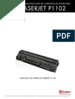 Como Recargar Toner HP 85A