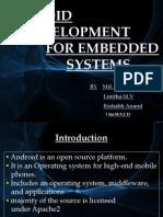 Basics of Android Presentation