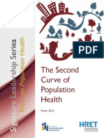 Second Curve to Pop Health 2014