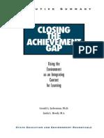 lieberman - closing the achievement gap