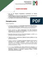 21-07-14 Aspectos relevantes - 4to Dictamen de la Reforma Energética
