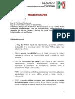 21-07-14 Aspectos Relevantes - 3er Dictamen de la Reforma Energética