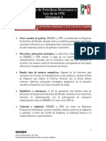 21-07-14 3er Dictamen - Ley de Petróleos Mexicanos y Ley de la CFE