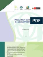 Produccion Hortalizas en Biohuertos Familiares