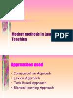 Modern Methods in Language Teaching