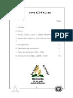 Plan de acción Mazatán 08-09