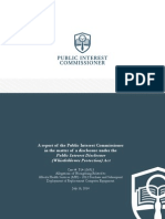 Public Interest Commissioner AHS Computer Report July 2014