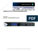 Vaddio AV Bridge Manual