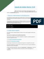 DESPUES DE INSTALAR UBUNTU 14.04.docx