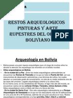 Arte Rupestres Del Oriente Boliviano