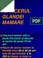 Cancerul glandei mamare