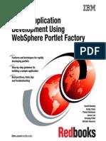 Portal Application Development Using Webshpere Portlet Factory