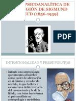 Teoría Psicoanalítica de La Religión de Sigmund Freud Filosofia de La Religion