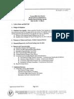 Regular Board Meeting Agenda July 2014