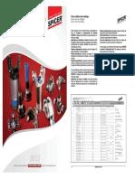 Catalogo Spiceadsr Crucetas y adsmponentes Cardanicos Linea Pesada 2012