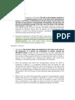 Succession Supplement Doctrines