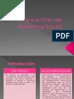 Avance Plan de Marketing Social
