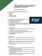 Banco Preguntas Irm. Julio 2014