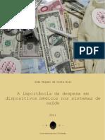 João_Baio_A Importância Da Despesa Em Dispositivos Médicos Nos Sistemas de Saúde_GES_2011