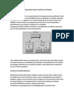 Metodologías Para El Diseño de Software
