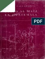Culto Al Maíz en Guatemala