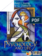 Psychology and Life 16th Edition Richard Gerrig and Philip Zimbardo