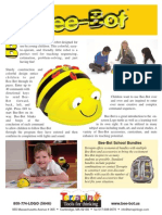 Bee Bot Product Sheet