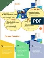 4P and STP of Dabur Odomos