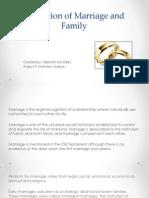 marriage presentation