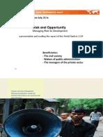 Presentation World Report 2014