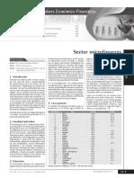 Sector Microfinanzas