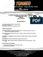 Informe Torneo Triángulo Del Café 2014