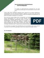 Provisorisches Gewächshaus Aus PVC-Wellplatten