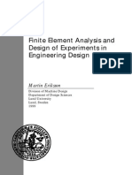 Finite Element Analysis and Design