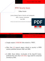 RFID Security Issues