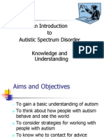 Autism Presentation for FCM
