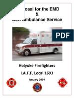 Holyoke Firefighters Ambulance Proposal 2014