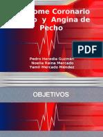 Síndrome Coronario Agudo  y  Angina de Pecho P