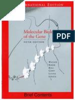 Watson Molecular Biology of the Gene 5th Ed Ing