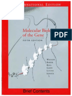 Watson Molecular Biology of the Gene 5th Ed Ing