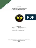 Contoh Laporan PPL 2