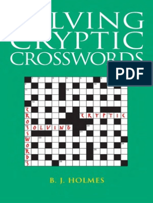 Solving Cryptic Crosswords Crossword Linguistics
