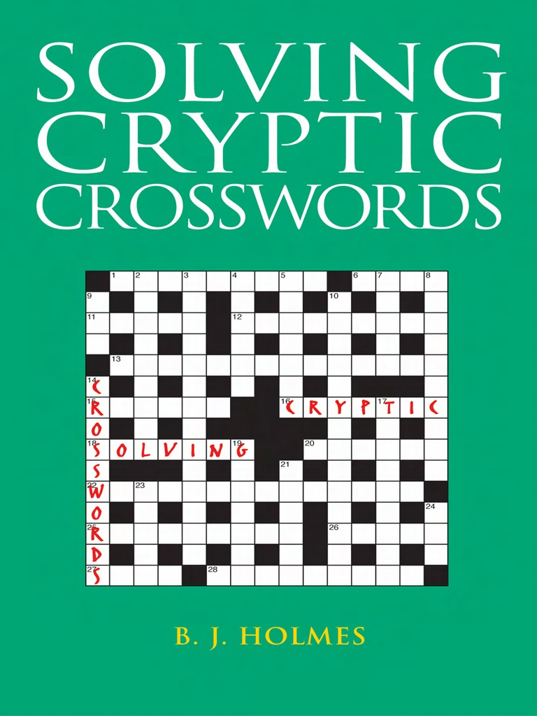 Solving cryptic crosswords crossword linguistics kristyandbryce Choice Image