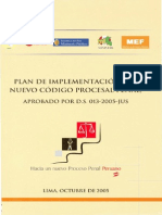 Plan de Implementacion Del Nuevo Cpp